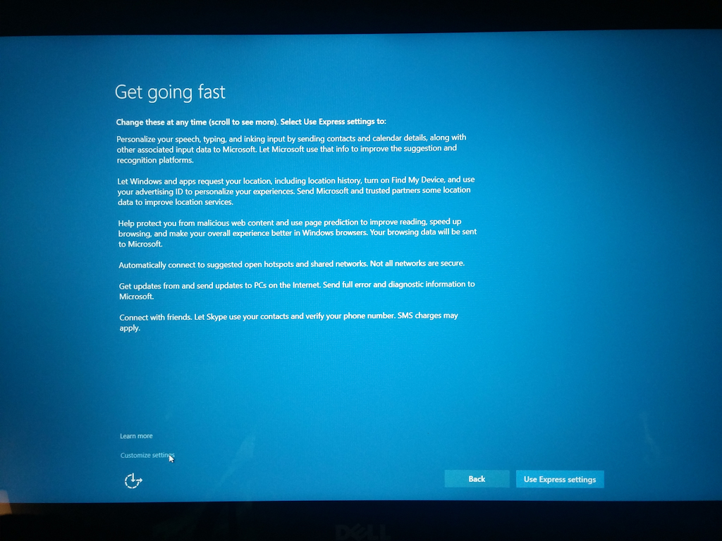 Windows 10 and the Loss of Privacy   D'Onofrio Creative